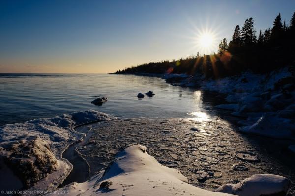 Sunset in Gull Harbor