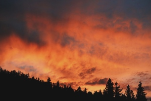 I love a fiery sunset