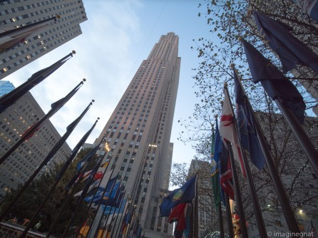 Rockefeller Building and Plaza